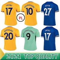 20 21 كرة القدم جيمات جيمس ألان دوكور قميص كرة القدم مجموعة حارس المرمى 2020 2021 كين ريتشارليسون حارس المرمى تايلاند الرجال الاطفال مجموعة