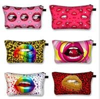 Femmes lèvres Cosmétic Maquillage Sac à glissière Sac à main Sac à main sac à dos Porte-monnaie Voie de toilette Sac Luxurys Designers Sacs Sacs Pochette Storage Totes E123003