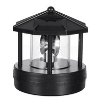 Lâmpadas Solares Lâmpadas de 24V LED Rotating House Luz Ao Ar Livre À Prova D 'Água Jardim Jardim Lampa Lâmpada Lâmpada de Iluminação Home Arte Decoração