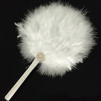 Ancient Costume Shooting Dancing Props Nice feather Fan 40CM Stage Show Fluffy Fan Creative Gifts Wholsale