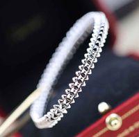 جودة الفاخرة سوار الشرير في 18 كيلو روز مطلية بالذهب والبلاتين اللون للنساء مجوهرات الزفاف هدية شحن مجاني PS8255