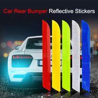 Stickers de la voiture Réfléchissant Stickers Protection Collision Scratch pour Toyota Benz Audi BMW Honda Mazda Hyundai Car Styling Styling Accessoires