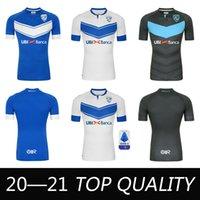 2020 2021 Brescia Calcio Soccer Jersey 2020 2021 홈 Balotelli Magnani Tonali Donnarumma 셔츠 멀리 Ayé Maglietta Morosini 축구 유니폼