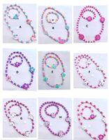 multi stili bambini fortunati dei monili di animale del fumetto della collana del braccialetto di disegno bambini svegli Unicorn braccialetto regalo di Natale dei capretti Gioielli