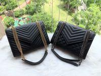 2019 mode frauen berühmter casual designer umhängetasche frauen kraft kraft kette tasche handtasche satchel geldbörse kosmetische taschen