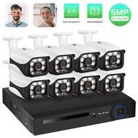 FUERS نظام CCTV 8CH NVR 5.0MP PoE كاميرا مراقبة نظام H.265 الأمن ماء كاميرا إنذار فيديو مسجل الوجه سجل 1