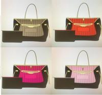 Nuevas bolsos de las mujeres de la moda de las mujeres diseñador de las señoras bolsas compuestas de la señora bolso de embrague del hombro del hombro de la cartera de la monedero femenina Tamaño grande: 010