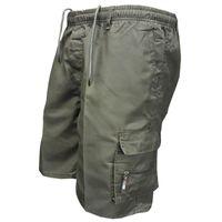 Shorts de carga para hombre hombres verano elástico cintura casual algodón multi bolsillo pantalones cortos masculinos sueltos caminatas cortos ejército pantalones cortos