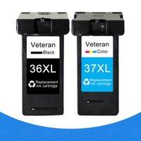 Veterano per Lexmark 36 37 XL Cartuccia d'inchiostro per Lexmark 36XL 37XL LM36 Series X3650 x4650 x5650 x6650 x6675 Stampante Z2420