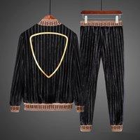 2021 Hommes designer Tracksuit Homme Entreprise occasionnel Hommes Suit Black Suit Fashion 2PCS Hommes Jogging Extérieur Sportswear Cuissons M-4XL