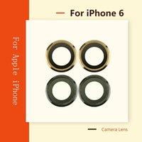 Lente originale per fotocamera per iPhone 6 6G Back back zaffiro posteriore con vetro con telaio in cristallo con telaio in metallo