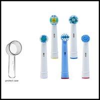 EPACK Elektrikli Diş Fırçası Kafaları 3D Elektrikli Diş Fırçası Kafası Koruyucu Kapak Yedek Fırça Kafaları Koruma CA