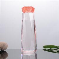 Garrafa de água de plástico Moda Caneca de viagem Esporte Garrafas de água Acampamento Caminhada Chaleira Bebida Cup Diamante Presente 416 J2