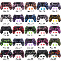 45 가지 색상 Sony PlayStation 4 PS4 DS4 Pro 슬림 컨트롤러 Thumb Grip Caps 용 4 PS4 DS4 Pro Slim Controller Thumb Grip Caps