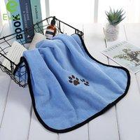 Evich Pet Products Products Банные полотенца Супер-мягкие Удобные и прочные с вышивкой из микрофибры для домашних животных JY121