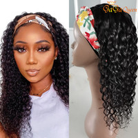 "Peruvian Water Wave Headband Wig 10"" - 26"" Easy to I..."