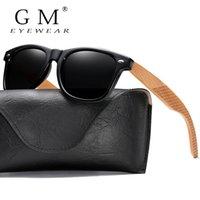 GM eseguito Qualitativamente Natural Natural Wood Polarized Sunglasses Donna Uomo con Gambe intagliate Confezione regalo in legno creativo S7062