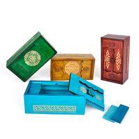 Puzzle box giocattoli di legno per bambini scomparto segreto cerebrali teaser logic gioco di legno puzzle giocattoli educativi per bambini 201218