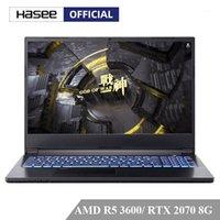 كمبيوتر محمول HASEE A7000 المحمول للألعاب (AMD Ryzen 5 3600 + RTX2070 8G GDDR6 / 8GB RAM / 512SSD / 15.6'144Hz 72٪ NTSC IPS) Notebook1