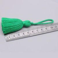 5 unids mini cuello corto cuerda borlas joyas casero tela de textil cortina ropa colgante artesanía borlas bricolaje ropa decoración material h jllkfi