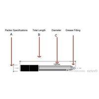 حقن باكر 3/8 بوصة جديد لمضخة حقن الايبوكسي حقن البولي يوريثين كفاءة للكراك المنزل الريبا SQCVTV Homes2007