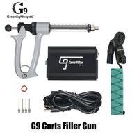 100% Original GreenlightVapes G9 Füllpistole Maschine dickes Öl Halbautomatisches VAPE-Füllgerät für 510 Thread-Stiftwagen-Kartuschen Original