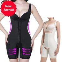 네오프렌 땀기도 사우나 셰이퍼 여성 플러스 사이즈 풀 허벅지 슬리밍 허리 코르셋 Tummy Trimmer Bodysuits