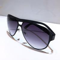 2252 النظارات الشمسية للرجال الأزياء التفاف الشمس الطيار إطار حار بيع نمط طلاء مرآة عدسة ألياف الكربون الساقين الصيف نمط 2252S