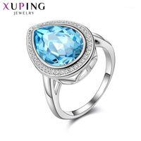 Alianças de casamento Xuping jóias moda de alta qualidade cristais anel para mulheres presente s177- xr11061