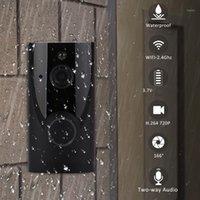 Türklingel Hohe Qualität DREURFEL MET CAMERA HOME WIFI Smart Drahtlose Sicherheit Türklingel Visuelle Gegensprechanlage Aufnahme Video Kits1