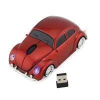 熱い販売車のマウス2.4gワイヤレスマウスのホームオフィスマウスマウス4色送料無料