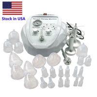 Voorraad in de VS Nieuwe Lijstvacuüm Massagetherapie Butt Uitbreiding Pomp Opheffing Borst Enhancer Massager Bust Cup Body Shaping Beauty Machine