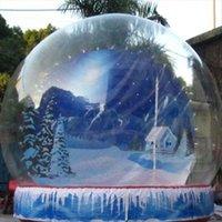 Pompa libera della pompa libera della pompa libera del globo del globo della palla di neve 3m 4m 4m della palla di neve del globo della palla di neve 4M Trasporto libero