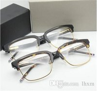 Vente chaude de bonne qualité TB Brand Eyewear Optical 709 lunettes lunettes cadre Hommes Oculos de Grau léger et confortable 49mm avec étui