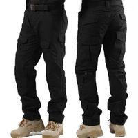 Открытые брюки MenmiLiary Tactical MultiCam Camouflage Army Unifort Брюки Пешие прогулки Paintball Combat Cargo Knee Pads1