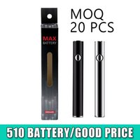 AMIGO 380MAH MAX максимальный нагревающий батареи переменного напряжения нижний заряд с USB 510 батарея Vape Pen с упаковкой для масляной корзины картридж Amigo