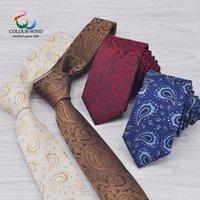 2020 Nuevas Marcas Paisley Poliéster Corbatas Para Hombres Necambiatas De Negocios Formales Personalizados Diseño Animalizado Negro Negro Corbata Vintage Gravatas1