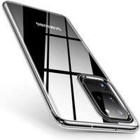 Ultra Ince Temizle Silikon Telefon Kılıfı Samsung A10 A20 A30 A40 A50 S7 S6 S8 S9 S10 Lite S10E S20 Not 20 Yumuşak TPU Arka Kapak