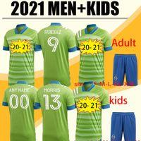 2012 2021 Yeni Seattle Souters FC Away Futbol Forması Kitleri 20 21 Ev Ruididiaz Morris Dempsey Torres Formalar Futbol Kiti Gömlek
