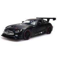 1:24 Modelo de Escala Carros Coleção Coleção Diecast Brinquedo Veículo Rodas Simulação Carro Brinquedos De Carro Puxar Carro De Corrida De Corrida Para Meninos X0102