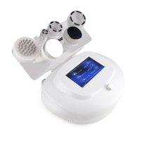 6 in 1 80K Portable RF Cavitazione radio frequenza viso e cellulite micro corrente biopolatrice