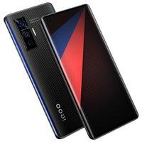 "Original vivo iqoo 5 pro 5g Handy 12 GB RAM 256GB ROM Snapdragon 865 Octa Core Android 6.56 ""Vollbild 50mp AR NFC 4000mAh Wake Face ID Fingerprint Smart Handy"