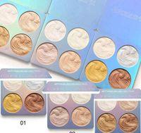 Best Cmaadu Brand 4 Colors Iluminador Bronzer Evidenziatore Blush Polvere per Face Eyes Body Trucco Palette per il trucco Contouring Make Up Comestics
