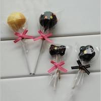 Pacchetto di avvolgimento regalo di 100pcs cellophane celloo celloo cioccolato lecca-lecca avvolgente avvolgimento busso di compleanno fai da te
