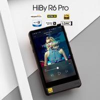 HIBY ALUZI Aleación Android HiFI HIVERSE HIRES DE LA MUSICA DUAL / WIFI / AirPlay / Bluetooth / LDAC / DSD / APTX / MQA / TIDAL LJ201016