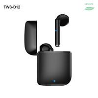 جديد D12 TWS بلوتوث المزدوج الأذن الهاتف مع شاشة التحكم شاشة متعددة الألوان بلوتوث اللاسلكية سماعة سماعة العلامة التجارية سماعة