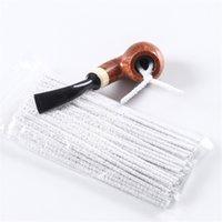 Tuberías para fumar Limpieza de pinceles Prevenir Bloqueo Cepillo de tira No cobertizo Cabello Metal Flexible 16 cm Lengty Tool 4PN N2