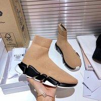 Moda 2021 Botas de martín de tacón alto más vendido Grueso con las damas Botas de desierto de cuero Boots de tacón alto de cuero Tamaño 35-42
