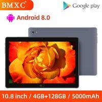 الكمبيوتر اللوحي 10.8 بوصة ديكا كور 4 جيجابايت RAM 128GB ROM لعبة الروبوت 2560 × 1600 Discutio IPS Screen 13MP الكاميرا الخلفية 4G Call Phablet 8 12