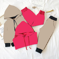 Çocuk Çocuk Takım Elbise İlkbahar Sonbahar Erkek Kız Takım Rahat Sportwear Eşofman Bebek Uzun Kollu Ceket Giyim Seti 2-8 T B283